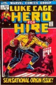 Hero For Hire Comics, Luke Cage